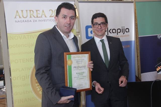 The award for the social utility – AUREA
